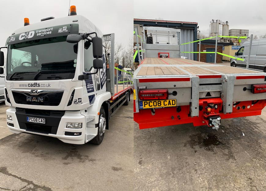 C & D Transport Services Latest Acquisition – MAN TGM 18.320