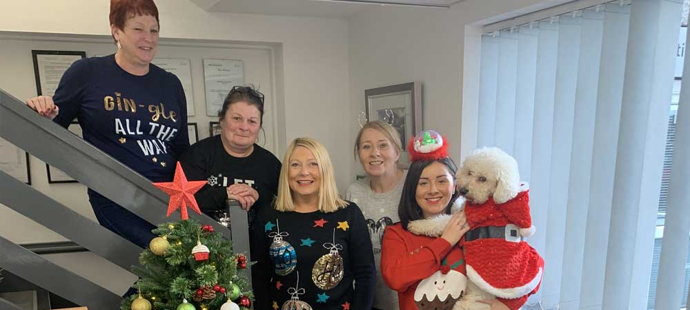 Christmas Jumper Day at Swansea