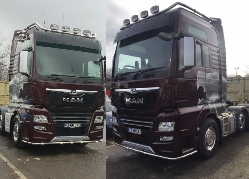 Davies Logistics Has A New Flagship MAN Tractor