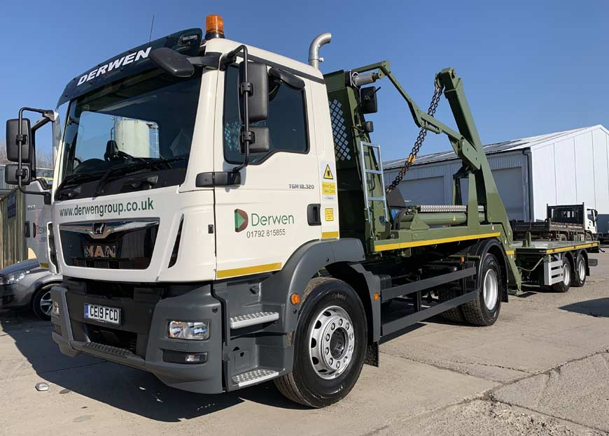 Derwen Group Invest in their Latest MAN Transport Solution