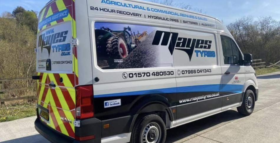 WOW! Mayes Tyres - what a difference great livery makes