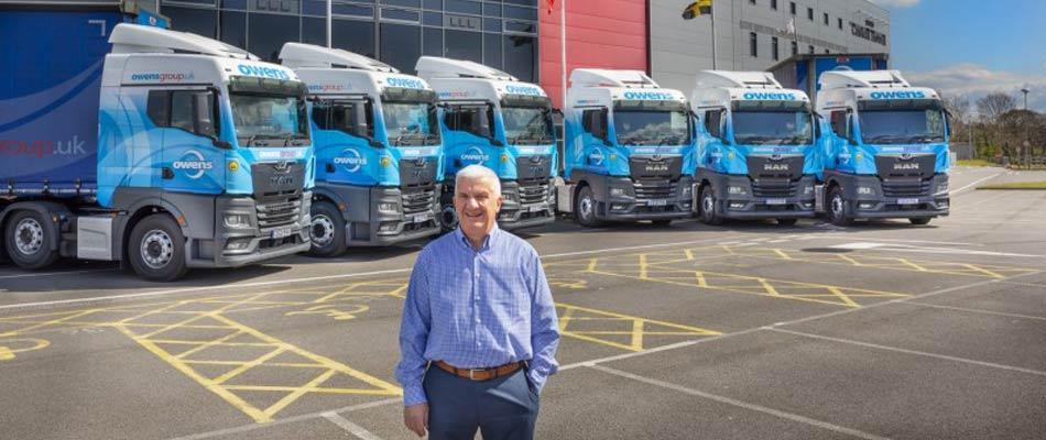 Owens Group choose New Generation MAN TGX Trucks