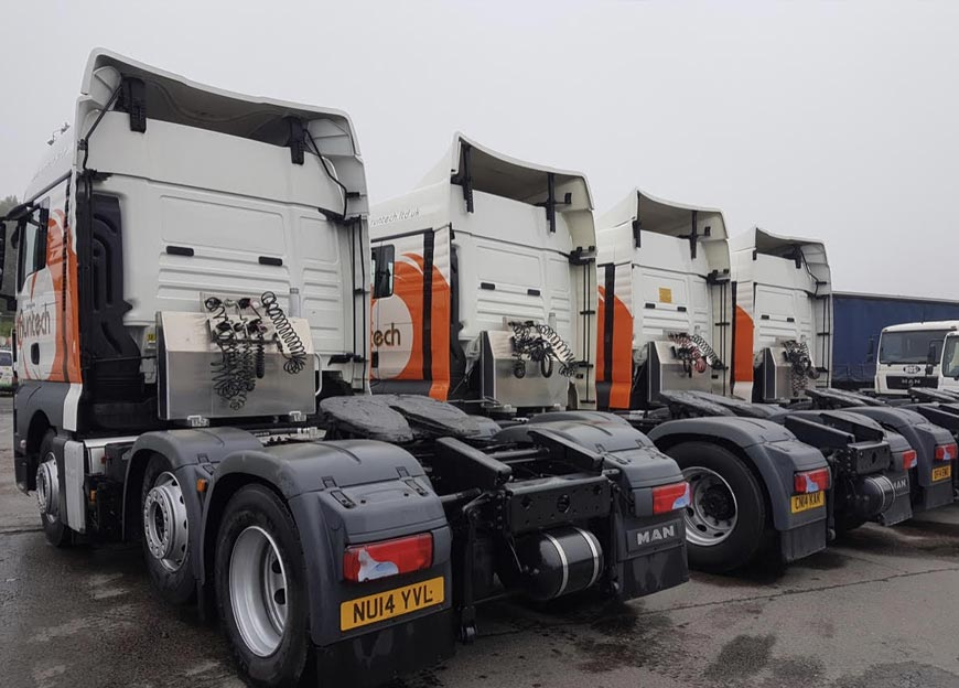 Runtech takes 4 - MAN TopUsed TGX tractors from WG Davies, Swansea
