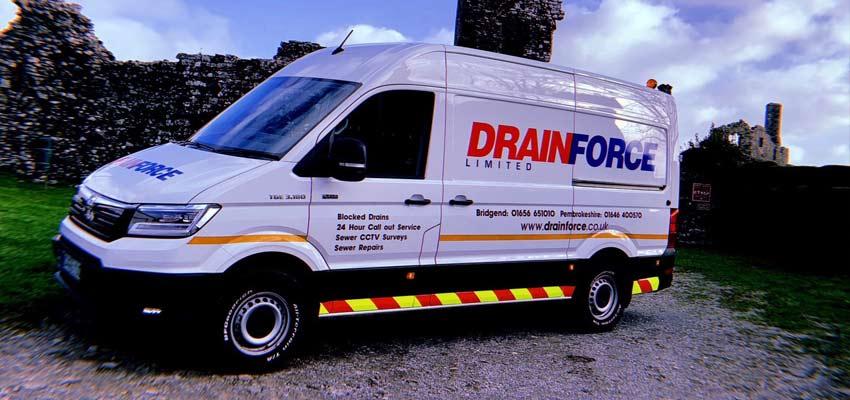 Drainforce, WG Davies and the MAN TGE