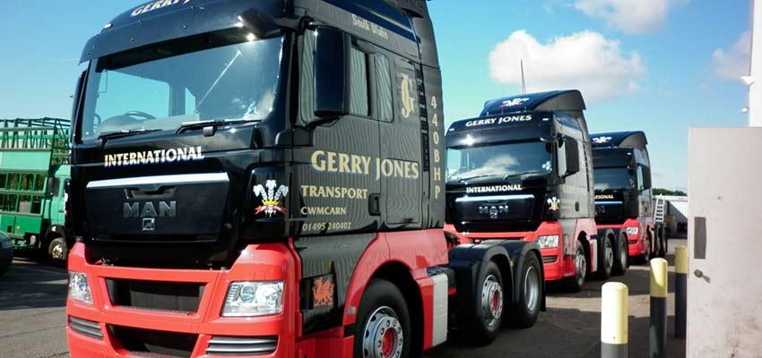 Customer Spotlight: Gerry Jones Transport