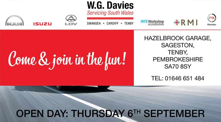 Join us for our Tenby branch re-launch