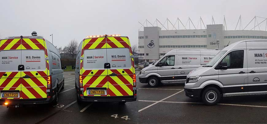 MAN Van Sales South Wales
