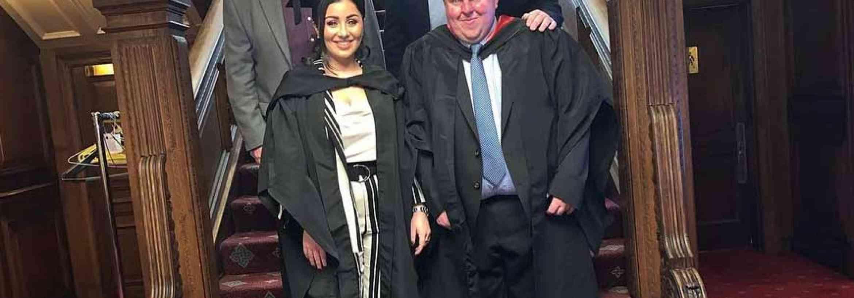 W. G. Davies's Management Duo Graduate at Celtic Manor