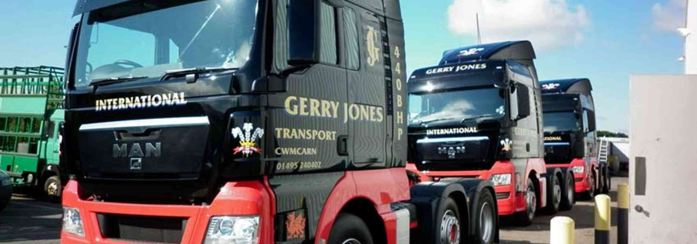 Customer Spotlight: Gerry Jones Transport