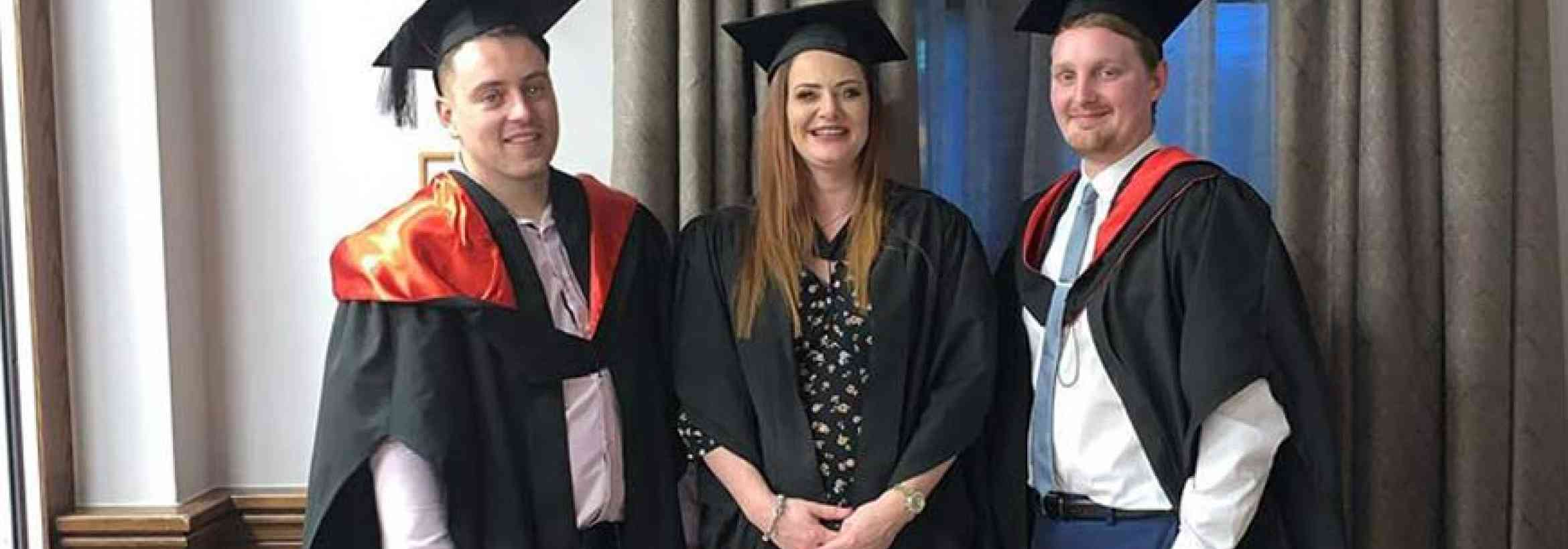 The 3 Amigos: Meet the Latest W. G. Davies Management Graduates