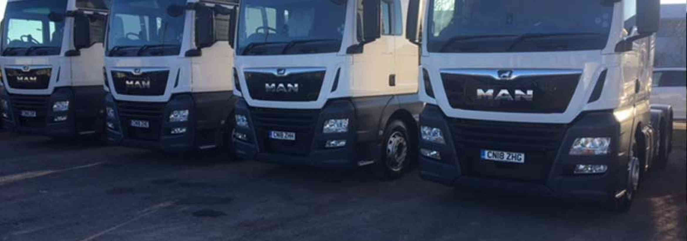 Wild Water Group adds four New MAN TGX XXL tractors to their fleet