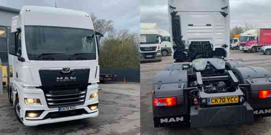 Award Winning Duo for FSEW: MAN TGX Tractors