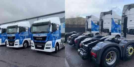Inter-haul's fleet continues to grow with MAN TGXs from WG Davies Cardiff