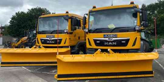 MAN TGM Snowploughs supplied to Neath Port Talbot Council