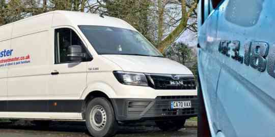 Streetmaster (South Wales) go on the road with a new MAN TGE Van