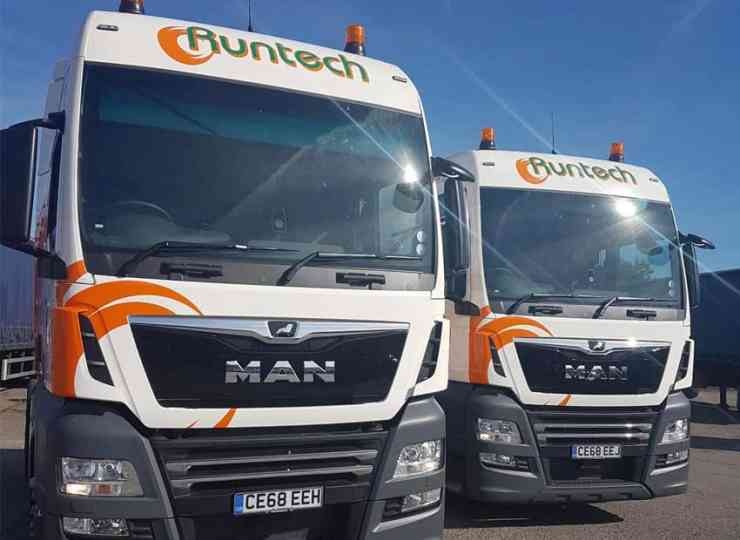 New MAN trucks delivered for Runtech
