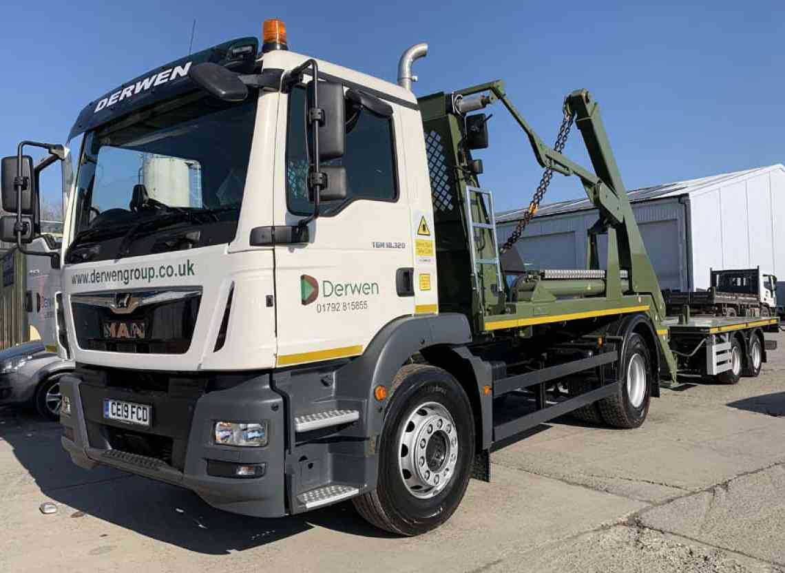 faf8457c27 Derwen Group Invest in their Latest MAN Transport Solution