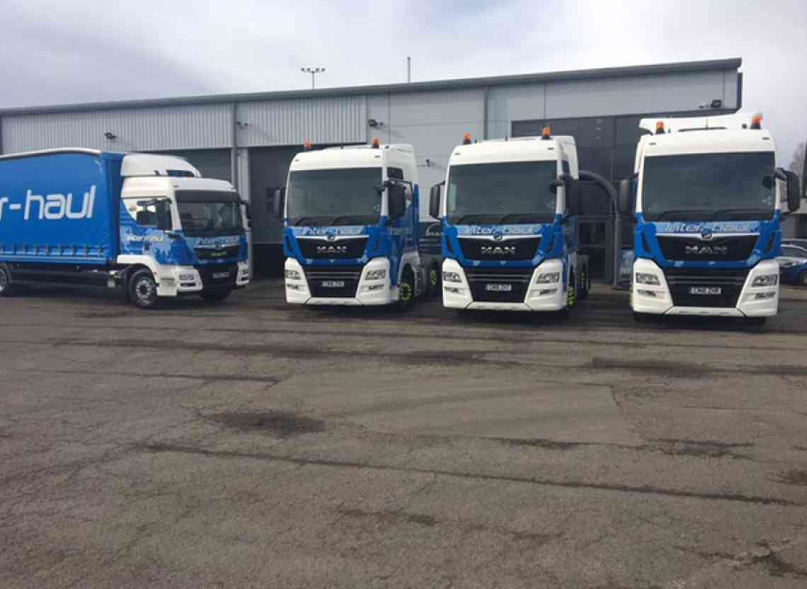 Magnificent 7 off to Inter-haul from WG Davies Cardiff