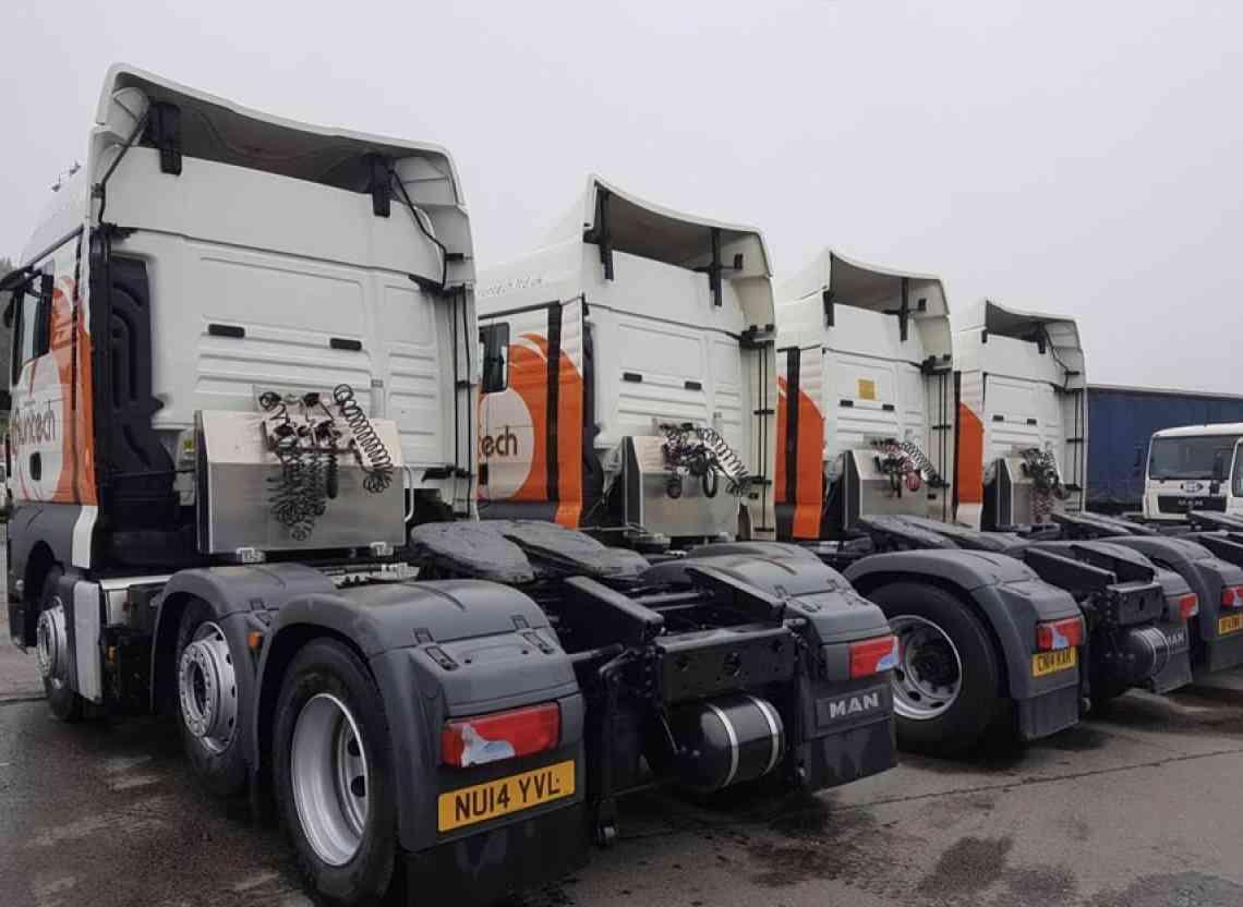 Runtech takes 4 - MAN TopUsed TGX tractors from WG Davies, Swansea