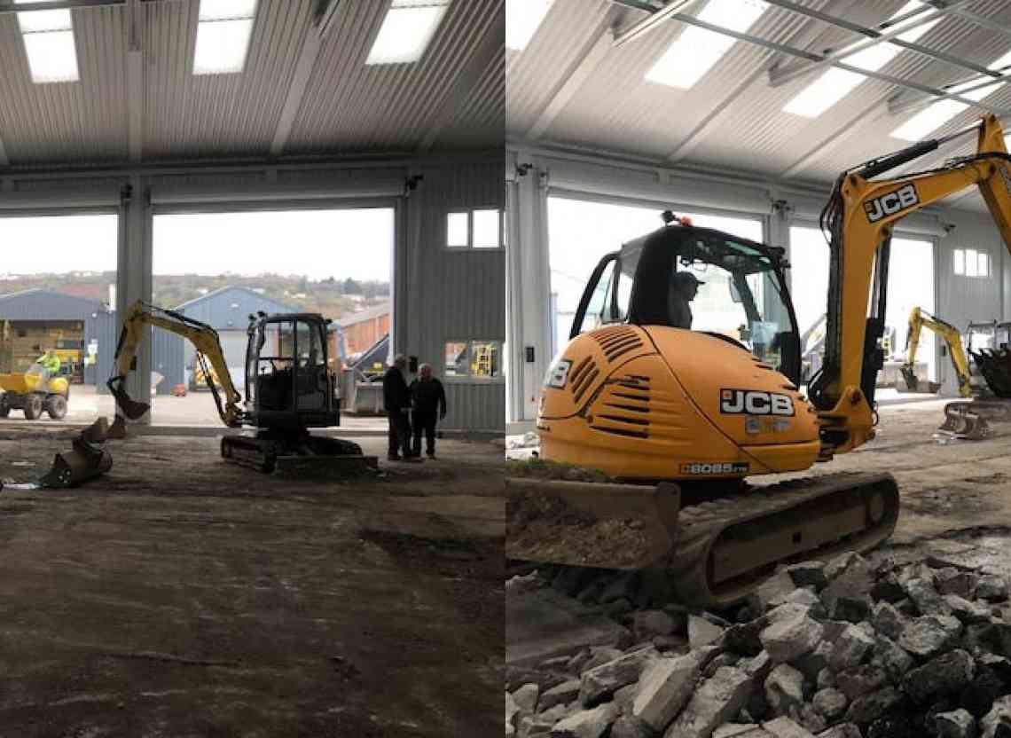 WG Davies New Swansea Depot