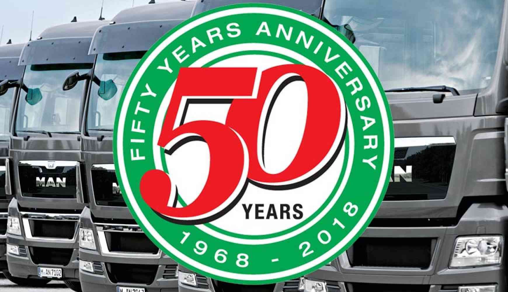 50 Years of looking after South Wales Transport Operations