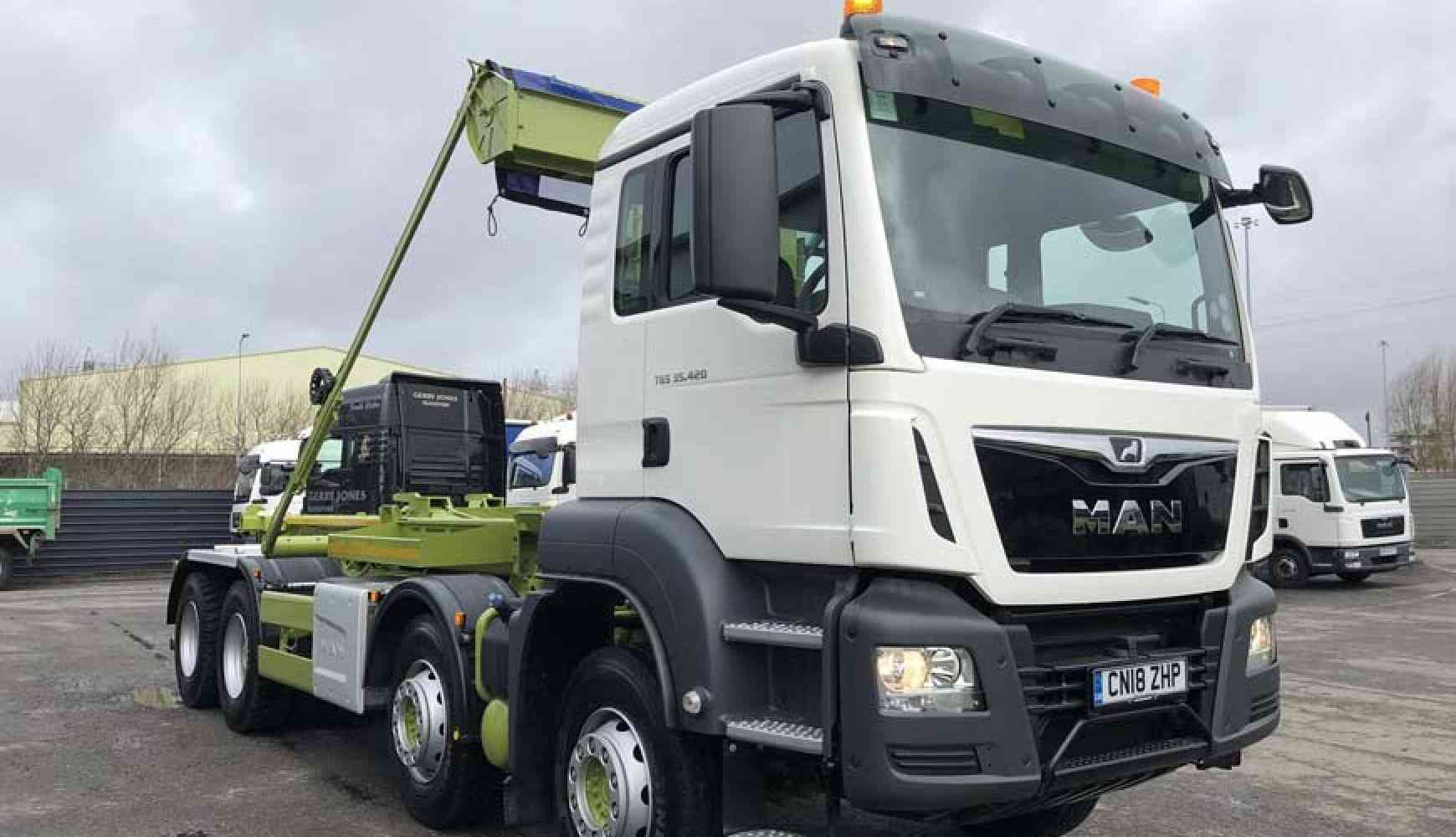 New MAN TGS 35.420 to Forward Waste Managementof Cardiff
