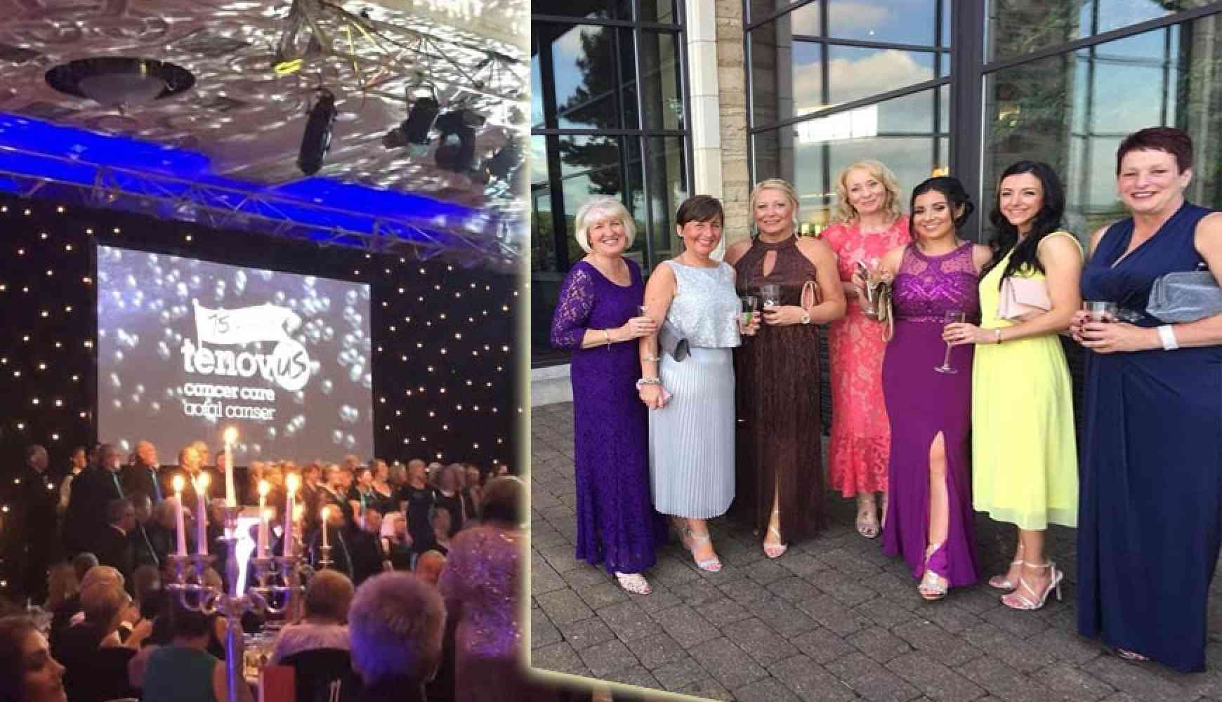 WG Davies Ladies Attend the Tenovous Charity Ball
