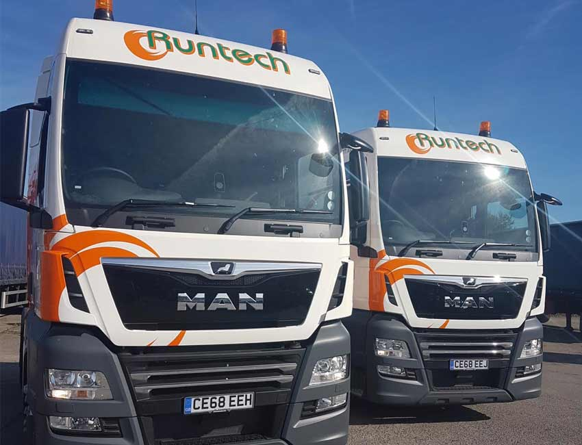 515452c3ac New MAN trucks delivered for Runtech